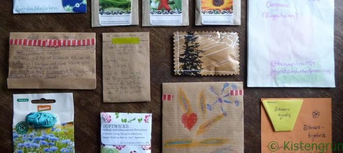 Pflanzensamenkreiselei 2015: Post ist da!