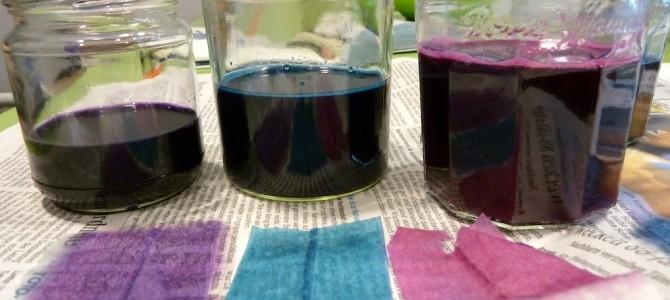 Pflanzenfarben selbst herstellen