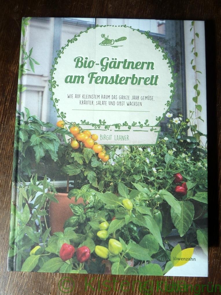 Buch: Biogärtnern am Fensterbrett von Lahner