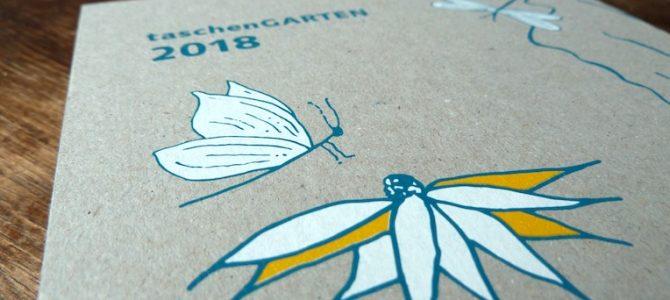 TaschenGarten 2018: Bringt mehr Vielfalt in den Garten!