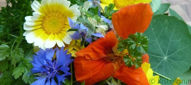 #Blütenzauber: Kräuterbutter mit essbaren Blüten