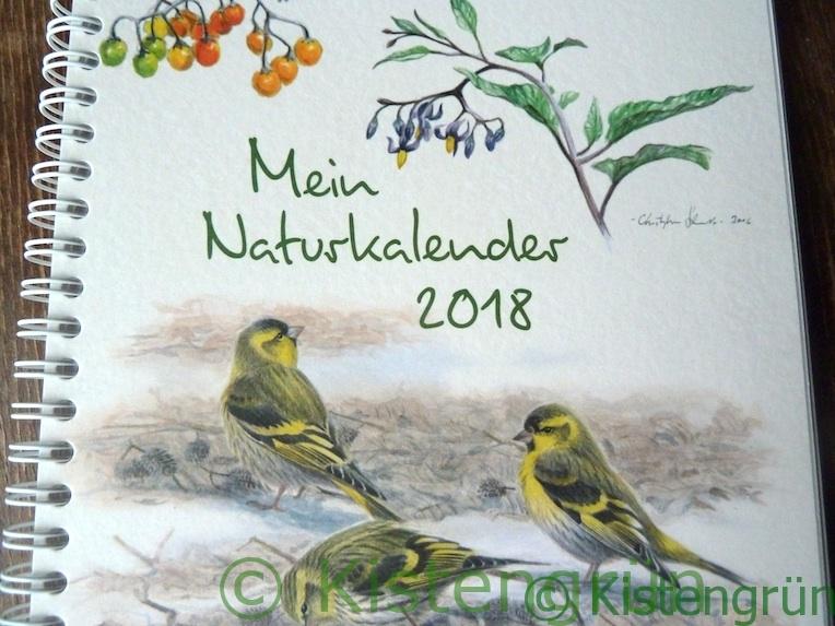Mein Naturkalender 2018