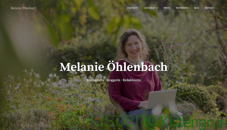 Journalistin und Garten-Bloggerin Melanie Öhlenbach