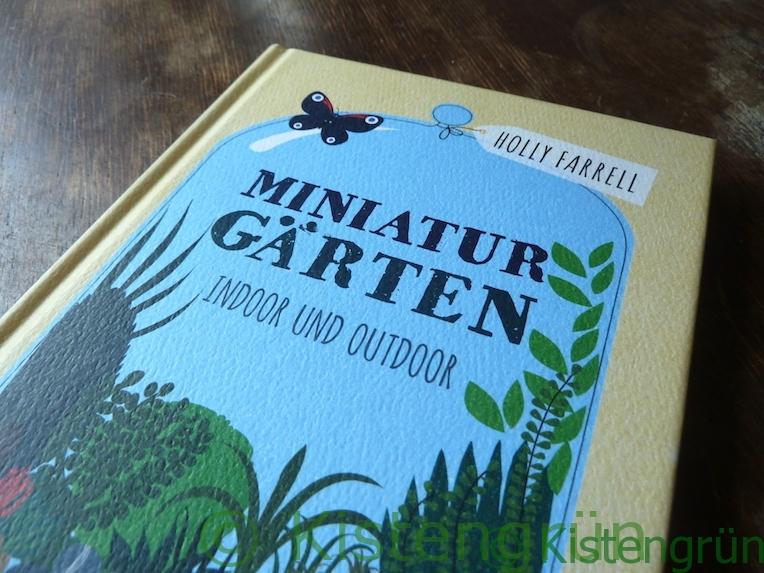 Cover von Holly Fareel's Buch Miniaturgärten