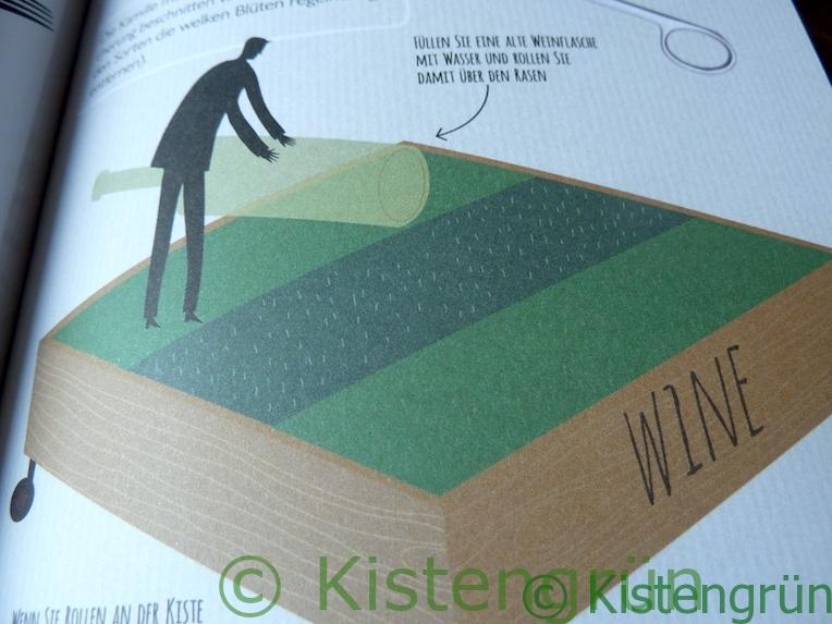Aus Holly Farrell's Buch Miniaturgärten: Rasen in der Kiste