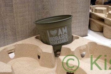Pflanztopf aus Bio-Plastik