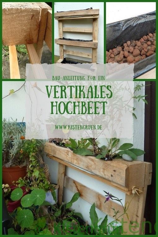 Vertikales Hochbeet Aus Paletten Bauen Kistengrün