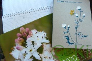 Natur- und Gartenkalender für das Jahr 2020