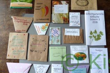 Saatgut tauschen: Saatguttüten selbstgemacht