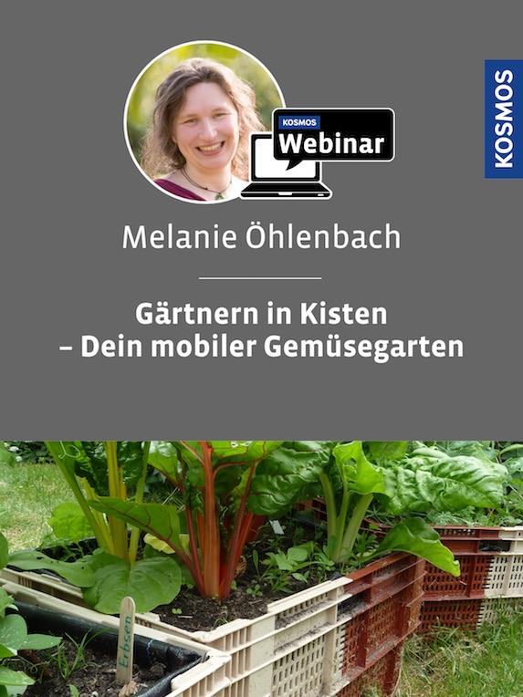 Kosmos-Webinar Gärtnern in Kisten mit Melanie Öhlenbach